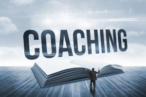 Coaching against open book against sky