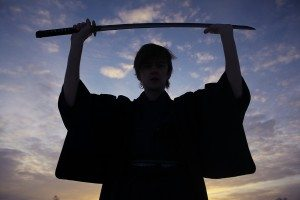 concept of the way Eastern philosophy, the monk samurai