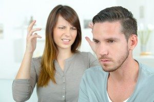 Couple going through a rough patch