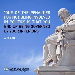 Plato statue
