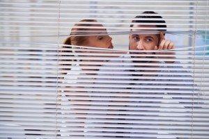 Secret office romance